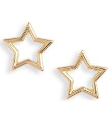 women's bony levy 14k gold open star stud earrings (nordstrom exclusive)