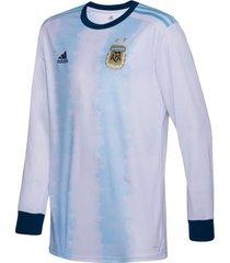 camiseta celeste adidas titular seleccion argentina