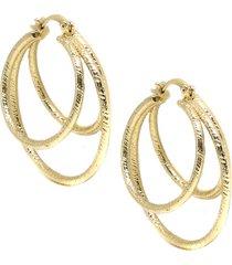 women's ettika cage hoop earrings