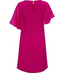 jurk bijpassende sjaal en afneembare ketting van elena miro roze
