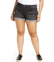 blanknyc dress down party cuffed cutoff shorts, size 16w in sneak preview at nordstrom