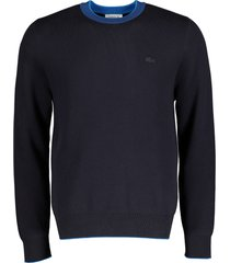 lacoste pullover - modern fit - blauw
