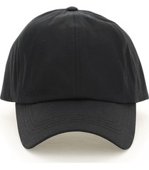 barbour wax sports baseball cap