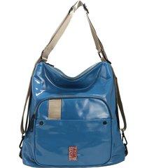 mochila azul leblu