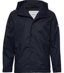 region jacket regenkleding blauw makia