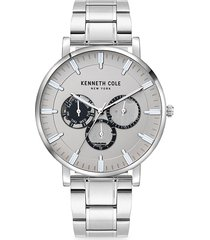 kenneth cole new york men's dress sport stainless steel bracelet watch
