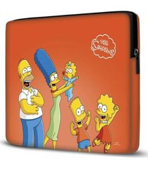 capa para notebook simpsons 15 polegadas - unissex