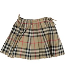 burberry mini-pearly skirt