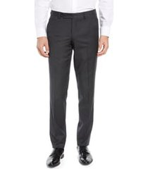 men's ted baker london jerome flat front solid wool dress pants