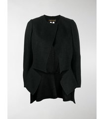 comme des garçons cut-out tailored jacket