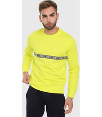 buzo amarillo-negro jack & jones