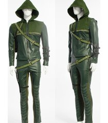 green arrow oliver queen cosplay costume adults superhero halloween outfit