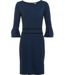 abito con bottoni gioiello (blu) - bodyflirt boutique