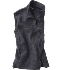 walkstof gilet berga, leisteen l