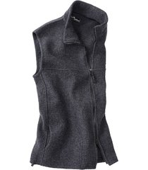 walkstof gilet berga, antracietgrijs xl
