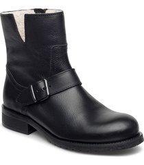 warm lining 81923 shoes boots ankle boots ankle boot - flat svart carla f