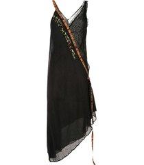 giacobino casual dress - black