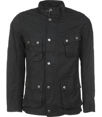 barbour high-neck army jacket