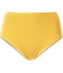 muller of yoshiokubo rib bikini bottom - yellow