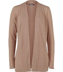 cardigan in maglina leggera (marrone) - bpc bonprix collection