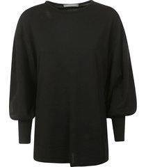 alberta ferretti wide sleeve sweater