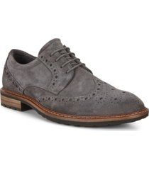 ecco men's vitrus i wing tip tie oxford men's shoes