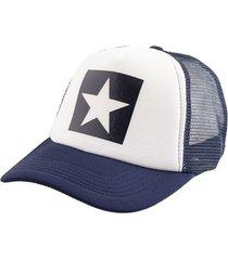 gorra azul bohemia estrella