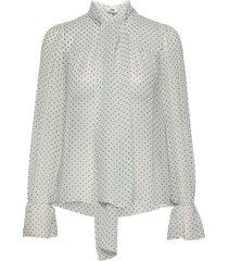 liv blouse blouse lange mouwen crème twist & tango