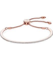 monica vinader fiji skinny vermeil diamond bar bracelet in rose gold at nordstrom