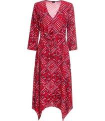 abito con punte al fondo (rosso) - bodyflirt