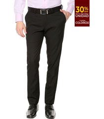 pantalón formal negro colore