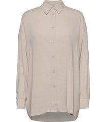 mix långärmad skjorta beige iro