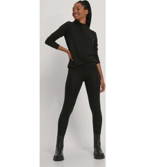 na-kd basic tights - black