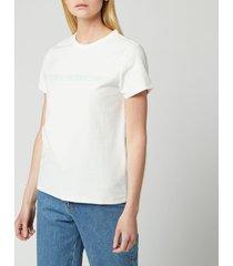 a.p.c. women's yukata t-shirt - pale green - m