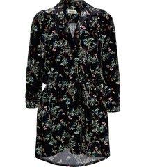 reveal velvet blossom dress kort klänning svart zadig & voltaire