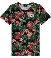 converse camiseta chuck taylor graphic print black