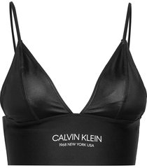 longline triangle-rp bikinitop zwart calvin klein