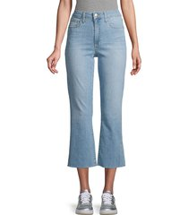 joe's jeans women's high-rise crop bootcut jeans - buenos air - size 31 (10)