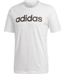 camiseta adidas performance hombre essentials linear
