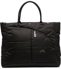 a-cold-wall* padded shell tote - black