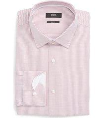 men's boss jesse slim fit print dress shirt