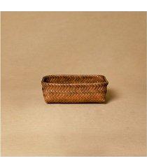 cesta malone p cor: marrom - tamanho: único