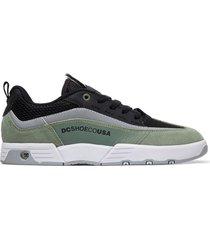 tenis de hombre legacy 98 slim se dc shoes negro
