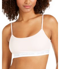 calvin klein ck one cotton unlined bralette qf5727