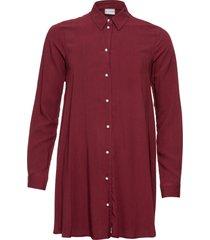 camicetta con bottoni effetto perla (rosso) - bodyflirt