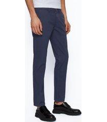 boss men's schino slim-fit trousers