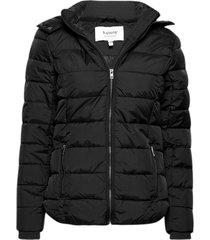 bybomina jacket 2 - fodrad jacka svart b.young