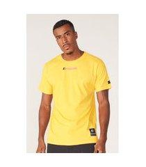 camiseta starter basic estampada amarela