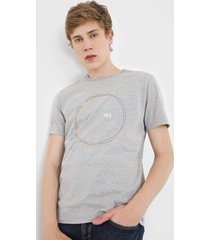 camiseta dudalina radar cinza - cinza - masculino - algodã£o - dafiti