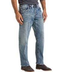 silver jeans co. eddie light blue wash classic fit jeans